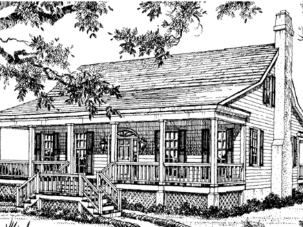 Florida cottage william h phillips southern living house for Southern homes florida