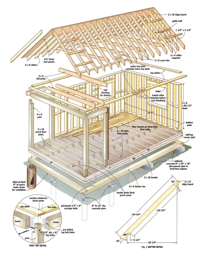 shed roof cabin with loft 12x16 cabin with loft plans