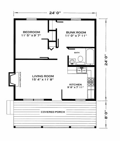 Small cabin floor plans small cabin house floor plans for Ron lee homes floor plans