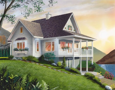 Small Lake Cottage House Plans Small Beach Lake House