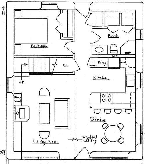 2 bedroom condo 2 bedroom chalet floor plans mountain for Two story condo floor plans