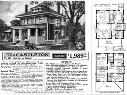 American Foursquare House Sears Plan Foursquare House Colors