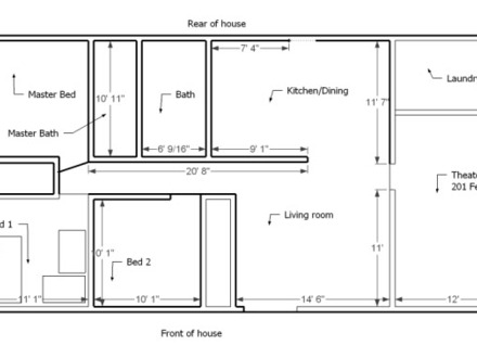 Best Small House Layout Simple Small House Floor Plans