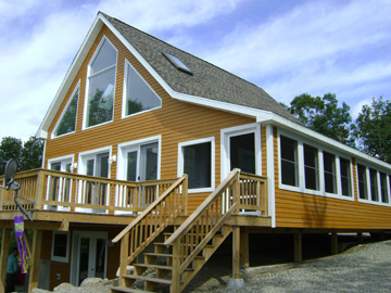 Custom built modular homes custom modular home plans for Cost of building a house in southern maine