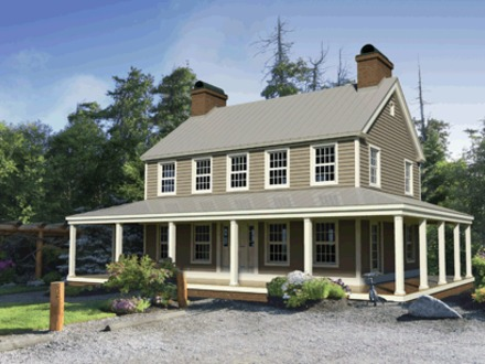Old farmhouse simples old farmhouse style new old house for Old style homes built new