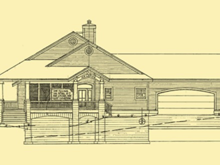 One Story House Plans with Wrap around Porch Ranch House Plans