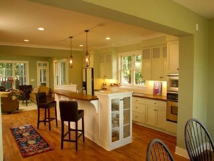 Small Kitchen Designs with Open Floor Plan Small Kitchen Designs with Islands