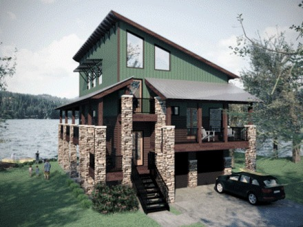 Lake House Plans with Open Floor Plans Lake House Plans ...
