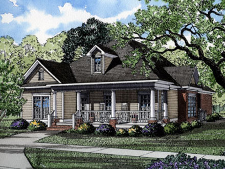 Southern Living House Plans Historic Cottage Living House Plans