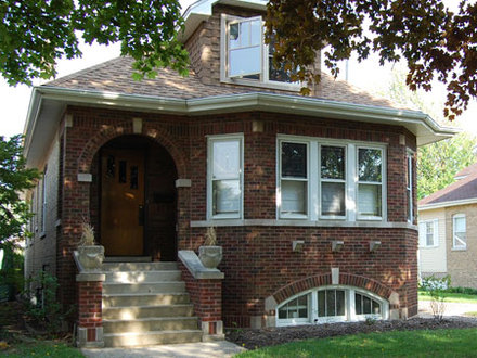 Bungalow Style Homes Chicago Style Brick Bungalow
