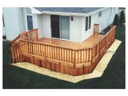 Do it yourself deck plans do it yourself decks pergolas for Do it yourself house plans free