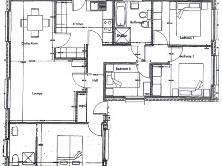 Semi detached house plans oval office floor plan detached for Garage plans with apartment above floor plans