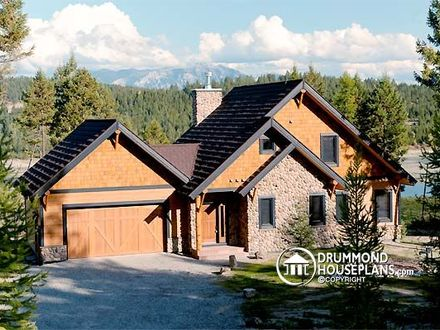 Rustic Western House Plans Rustic House Plans with Garage