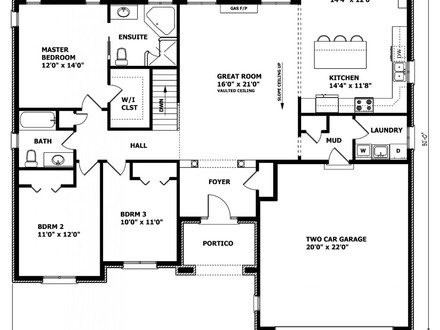 Small home designs canadian home designs floor plans for Cabin floor plans canada
