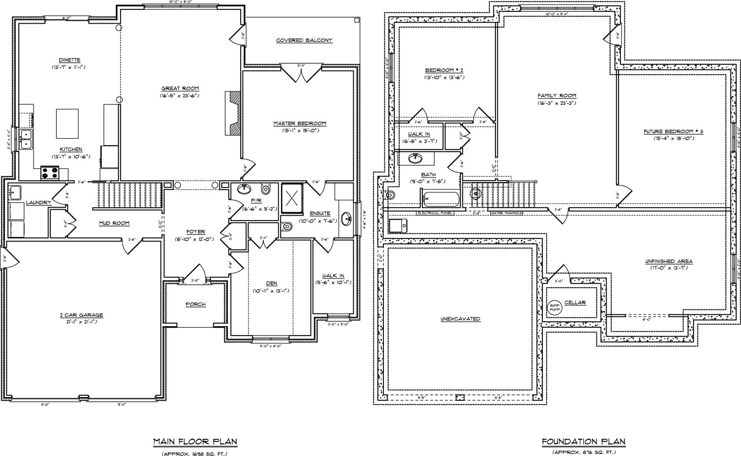 One Story Open Concept Floor Plans Anime Concept