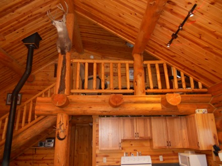 Pin Log Cabin Trailers With Loft on Pinterest Log Cabin Park Models Used