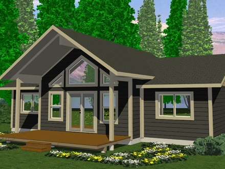 Small Cabins Under 1000 Sq FT Small Cabins and Cottages Plans