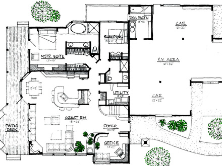 Stowe mountain lodge rustic mountain lodge house plans for Small energy efficient home plans