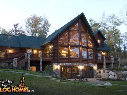 Golden Eagle Log Homes Lake House Golden Eagle Log Home Plans Lake House