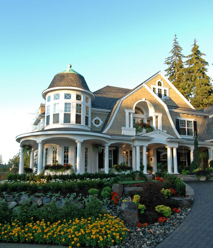 Hampton shingle style home plans small shingle style home for New homes that look old
