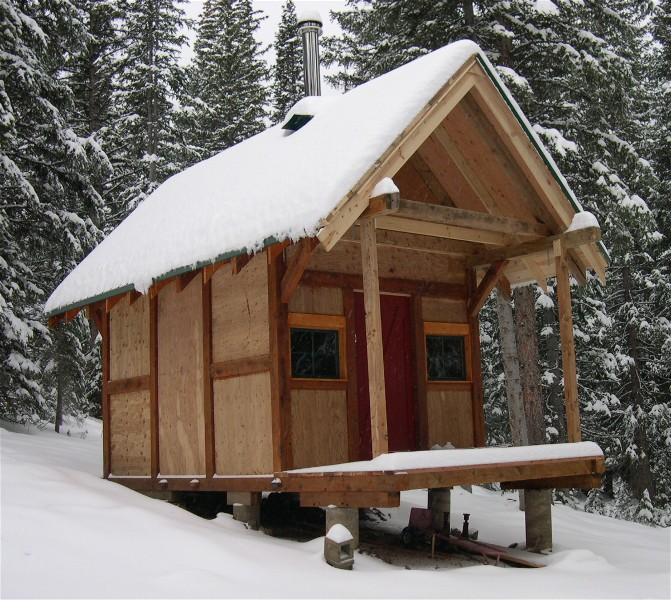 Small Timber Frame Cabins Small Post and Beam Cabins