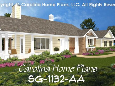 Brick One Story House Plans Small Brick House Plans