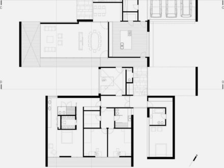 Furniture shapes for house plans roomstore furniture for Minimalist ranch house plans