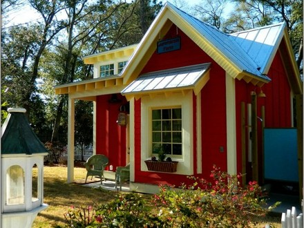 Little Red House Designs Tiny Little Red Cottage House
