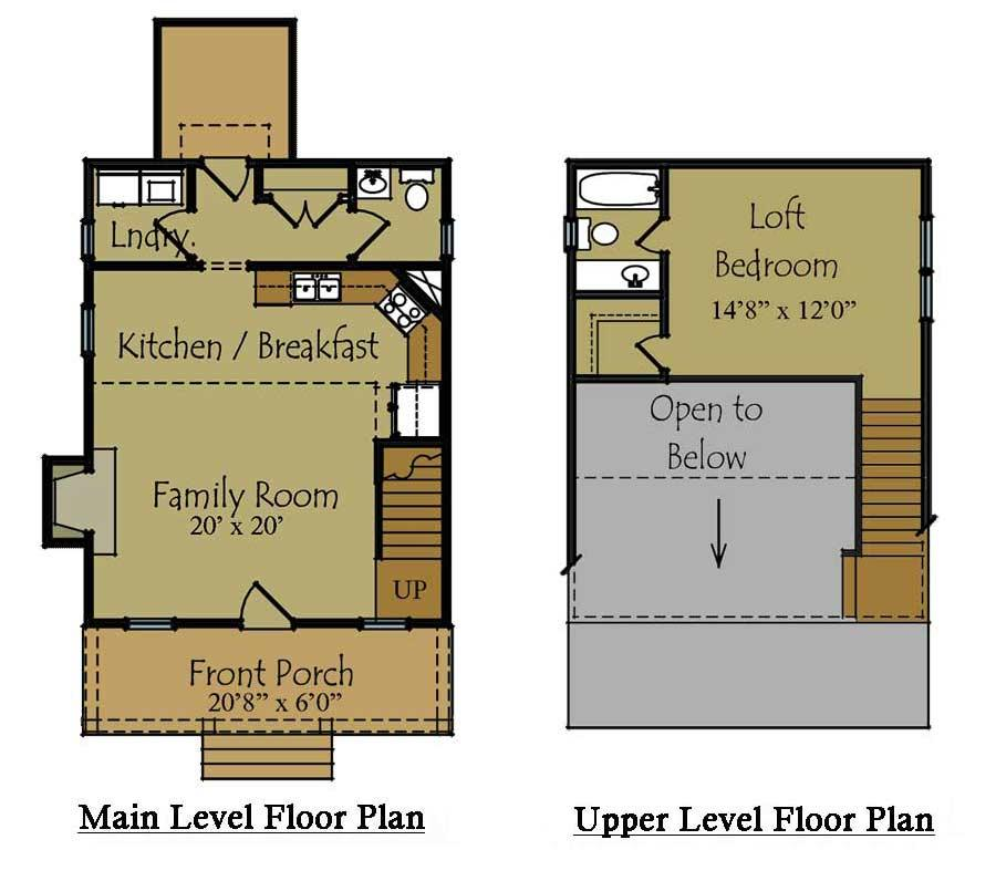 Small Guest House Floor Plans Back Yard Guest House Small