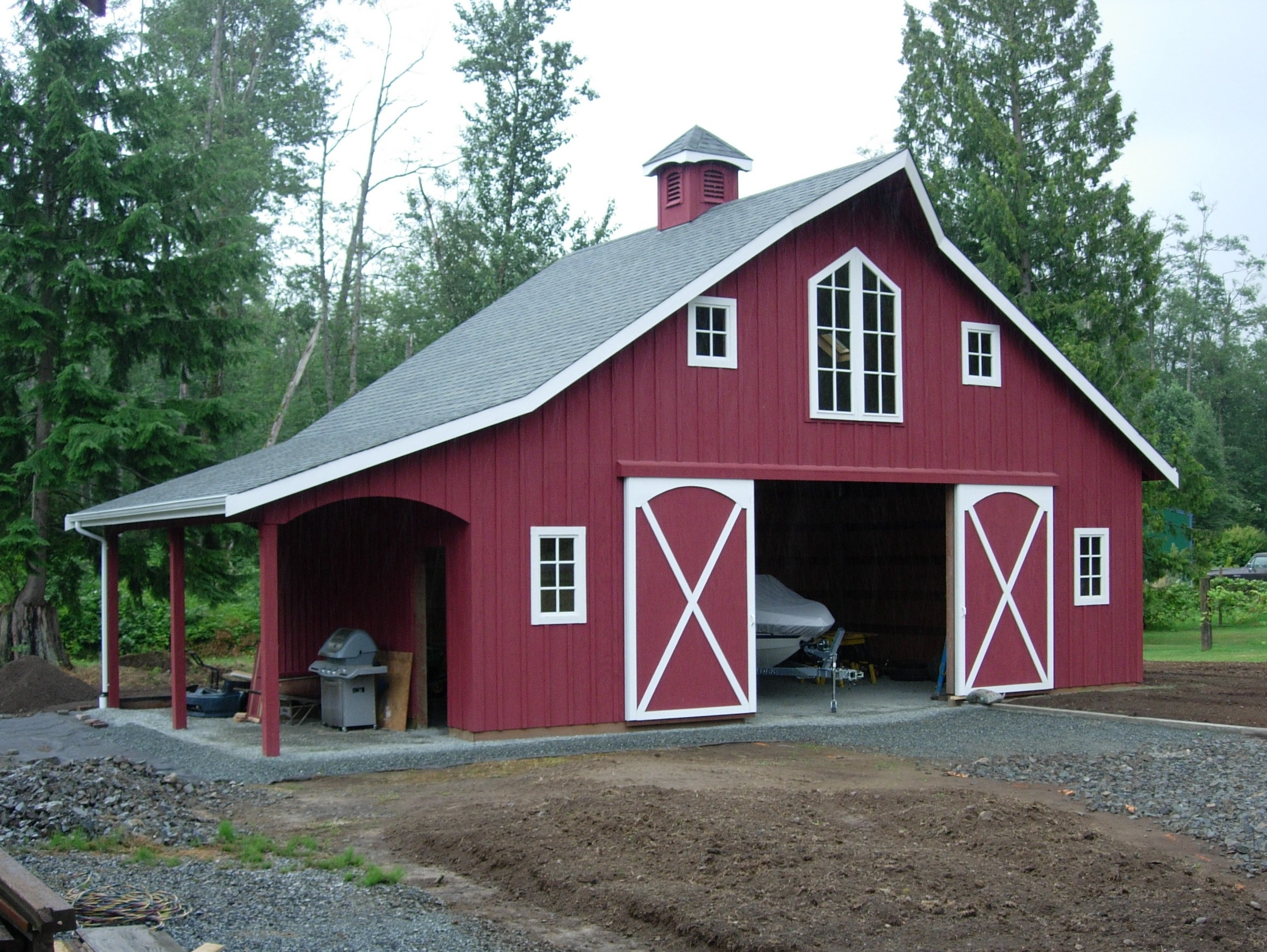 Small Horse Barn Plans 2 Stall Horse Barn Plans, shed ...