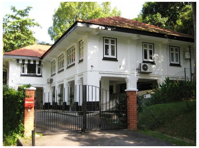 British colonial house british colonial decor english for British home plans