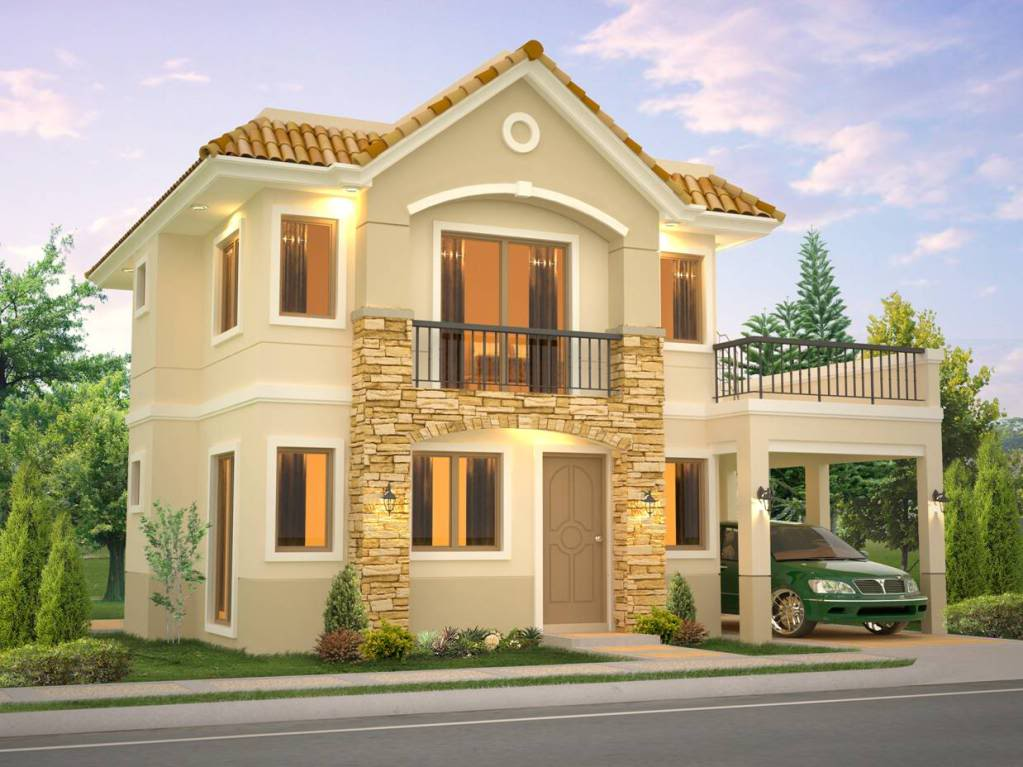 New model house in philippines model design house for Model house design 2016