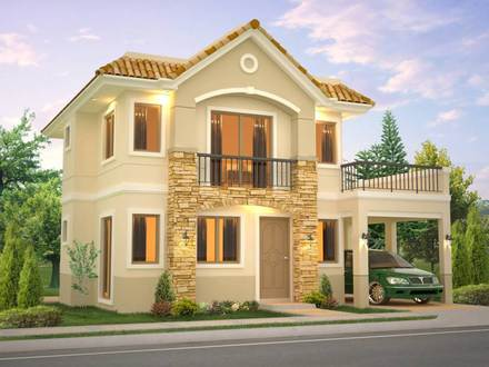 New Model House in Philippines Model Design House Beautiful