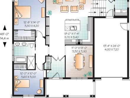 Small family house plans for Small single family house plans
