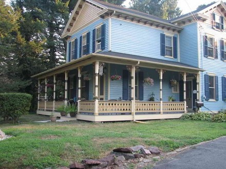 Colonial House Victorian Houses with Wrap around Porches