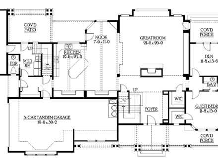 Floor Plans for Ranch Homes Print this floor plan Print all floor plans