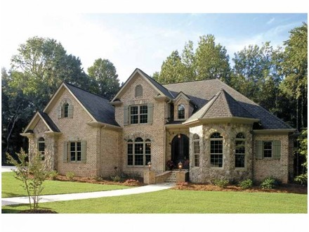 French Country House Exteriors French Country Homes House Plans