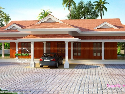 Kerala Traditional House Plans 5 Bedroom House Plans