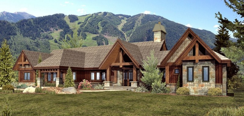 Luxury custom home floor plans custom home floor plans for Custom ranch homes
