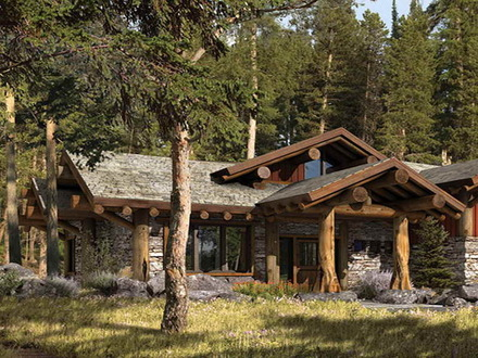 Rustic Mountain Homes Exterior Small Rustic Mountain Home Plans