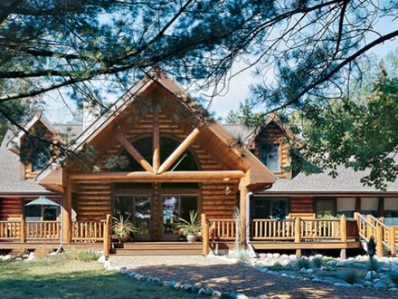 Small Log Home Floor Plans Log Cabin Flooring
