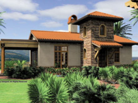 Small Mediterranean Style House Plans Small Spanish Mediterranean House Plans