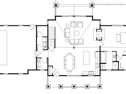 Ranch house open floor plans open concept ranch simple for Best ranch house plans 2016