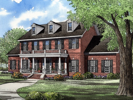 Acadian Style House Plans House Plans Colonial Style Homes