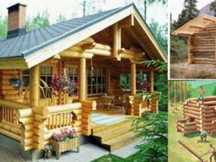 Small rustic log cabins small log cabin building kits for Building a rustic cabin