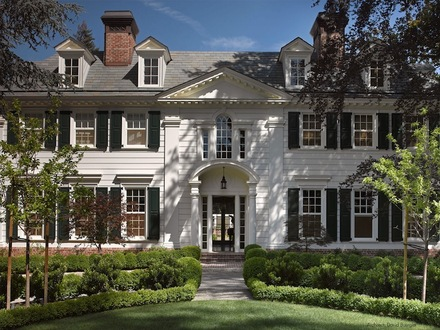 Cottage Style Homes Exteriors Colonial Style Home Exterior