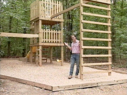 DIY Play Structure Plans Homemade Backyard Play Structures