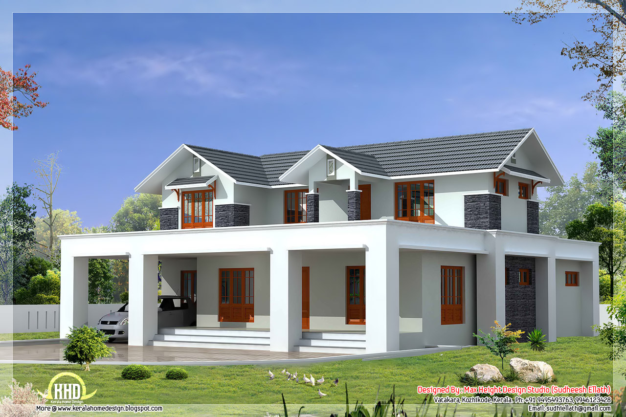Ultra-Modern House Plans Flat Roof House Plans Designs ...