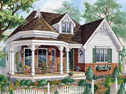 Victorian Cottage House Plans Tiny Victorian House Plans