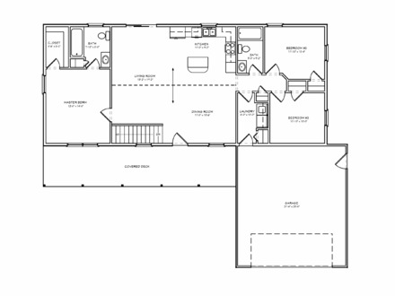 2 Bedroom House Simple Plan Small 2 Bedroom House Plans